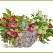Fujico 602 Basket with apples